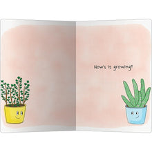 "Load image into Gallery viewer, Aloe Thyme Thinking of You ECOnote 4""x6"" Greeting Card"