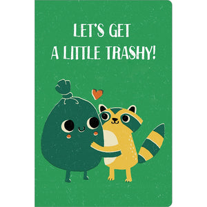 "Trashy Love ECOnote 4""x6"" Greeting Card 8 pack"