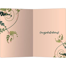 "Load image into Gallery viewer, So Happy For You Wedding ECOnote 4""x6"" Greeting Card"