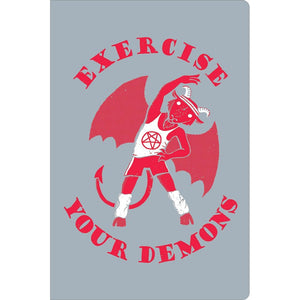 "Demons Support ECOnote 4""x6"" Greeting Card"