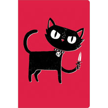 "Load image into Gallery viewer, Tough Kitty Get Well ECOnote 4""x6"" Greeting Card"