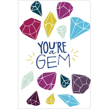 "Load image into Gallery viewer, You're A Gem Thank You ECOnote 4""x6"" Greeting Card 8 pack"