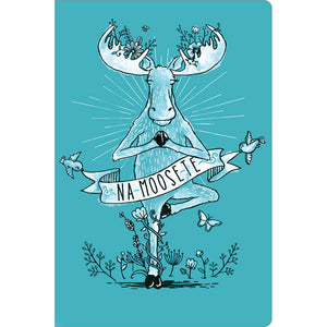 "Na Moose Ste All Occasion ECOnote 4""x6"" Greeting Card 8 pack"