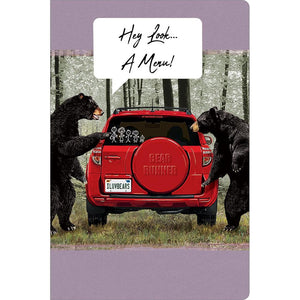 "Car Menu All Occasion ECOnote 4""x6"" Greeting Card"