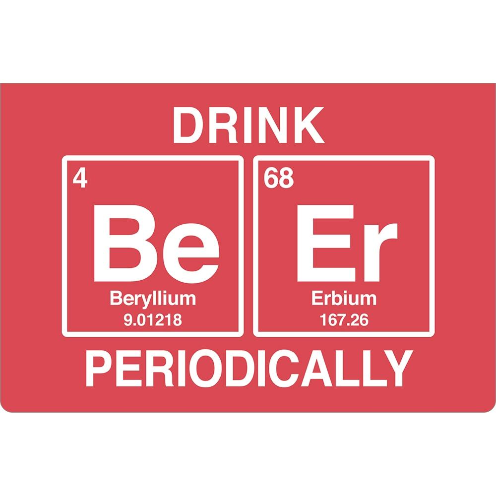 Drink Beer Periodically Birthday ECOnote 4