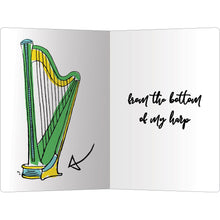 "Load image into Gallery viewer, Thank You Harp Thank You ECOnote 4""x6"" Greeting Card 8 pack"