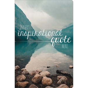 "Inspirational Quote Support ECOnote 4""x6"" Greeting Card 8 pack"