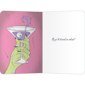 "Strong Potion ECOnote 4""x6"" Greeting Card"