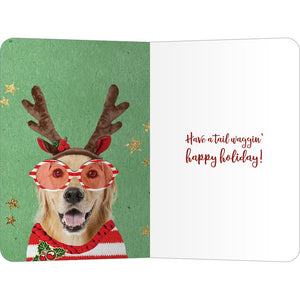 "Golden Joy ECOnote 4""x6"" Greeting Card 8 pack"
