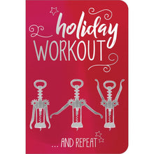"Load image into Gallery viewer, Holiday Workout ECOnote 4""x6"" Greeting Card 8 pack"