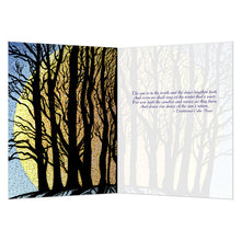 Load image into Gallery viewer, Winter Solstice  Solstice Greeting Card 4 pack