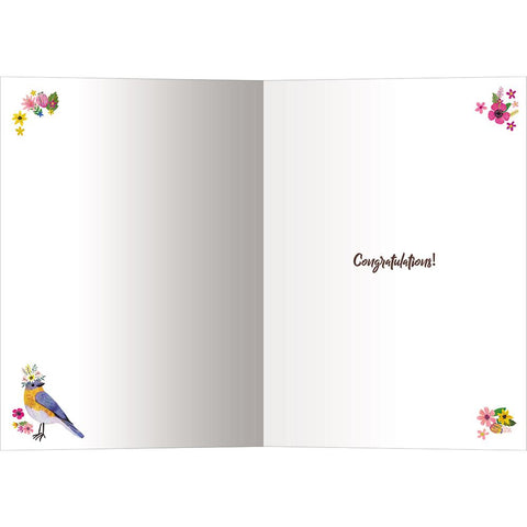 Send This Love Birds Wedding Card