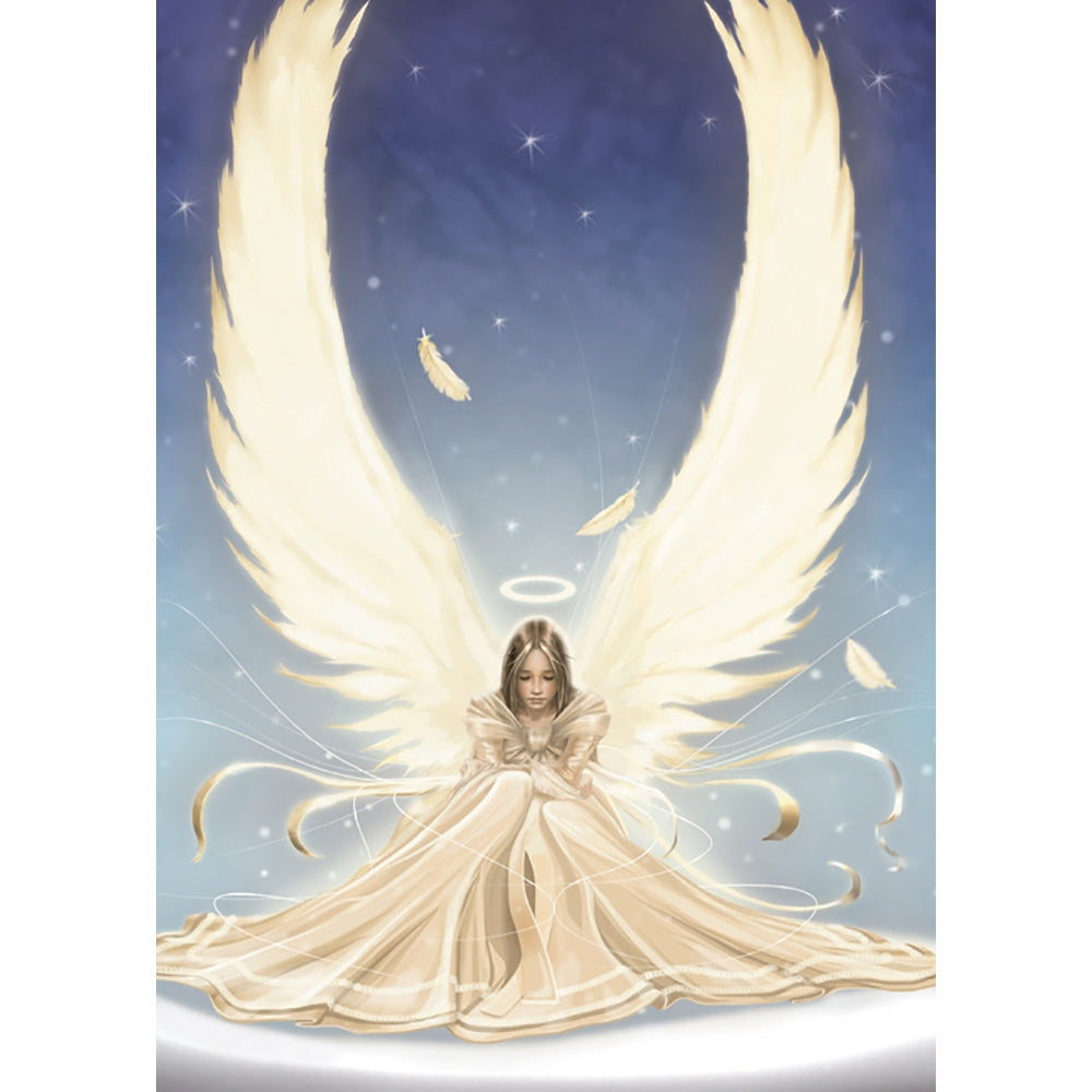 Snow Angel All Occasion Greeting Card