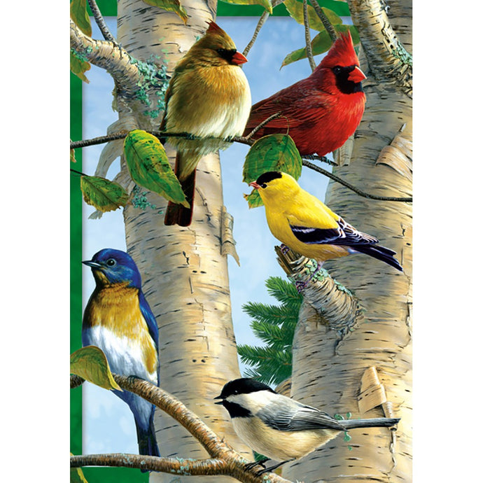 Favorite Songbirds All Occasion Greeting Card