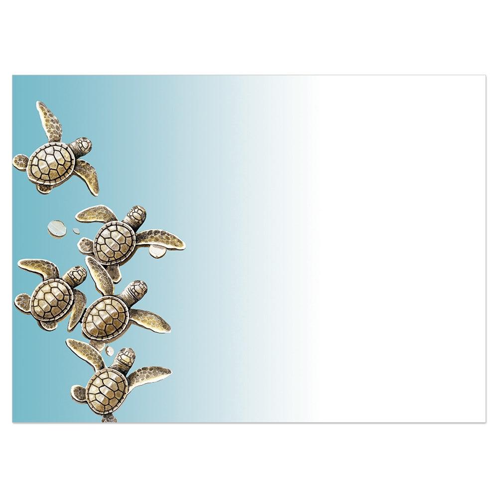 Baby Turtles All Occasion Greeting Card