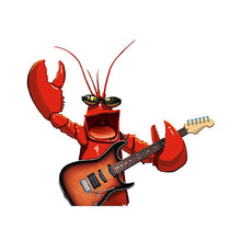 Load image into Gallery viewer, Rock Lobster Birthday Greeting Card