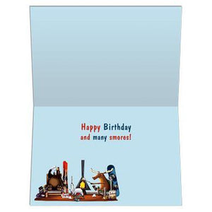 S'mores Birthday Greeting Card