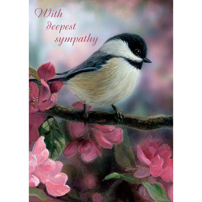 Peace And Comfort Sympathy Greeting Card