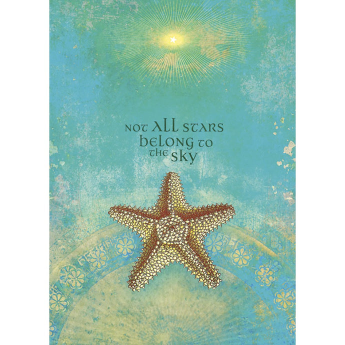 Not All Stars Belong Congratulations Greeting Card