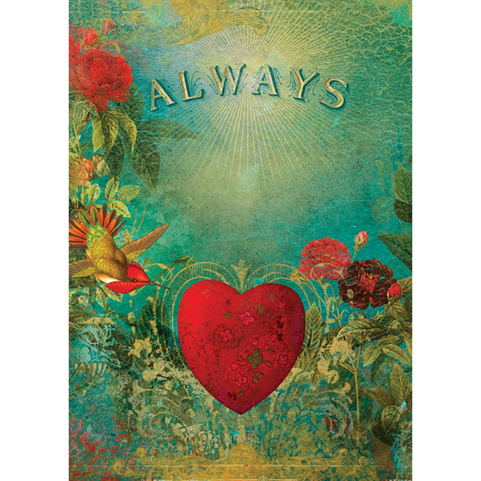 Always Love Greeting Card