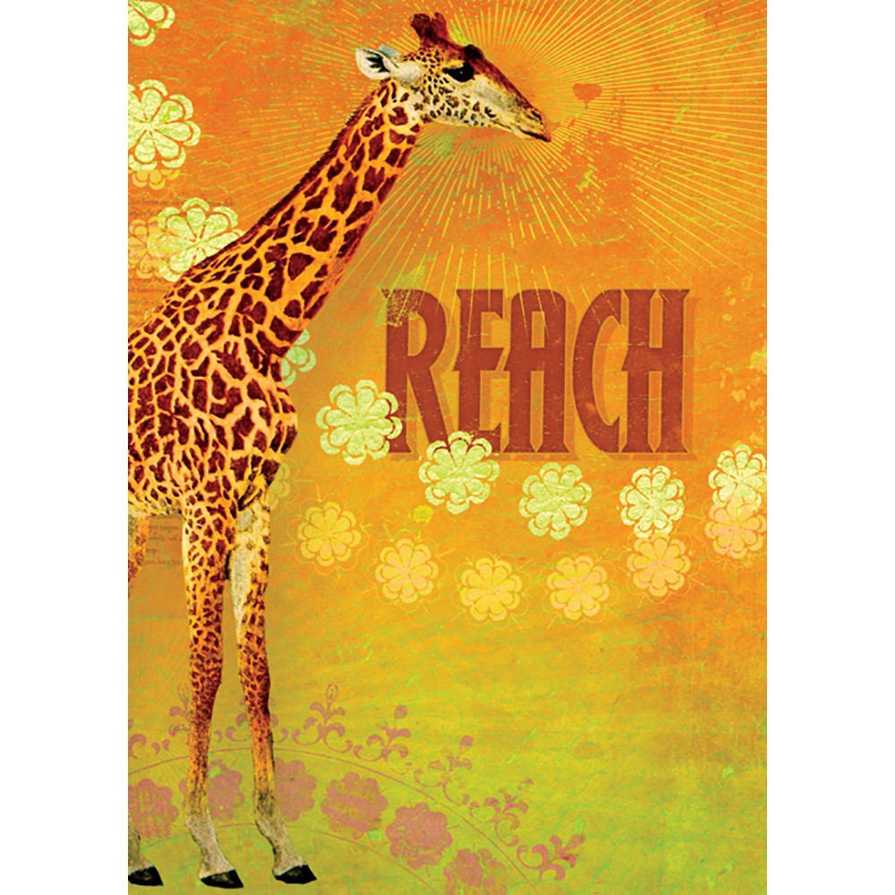 Reach Encouragement Greeting Card