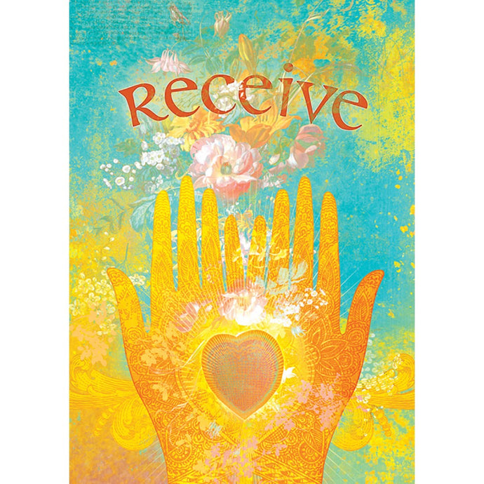 Receive Encouragement Greeting Card