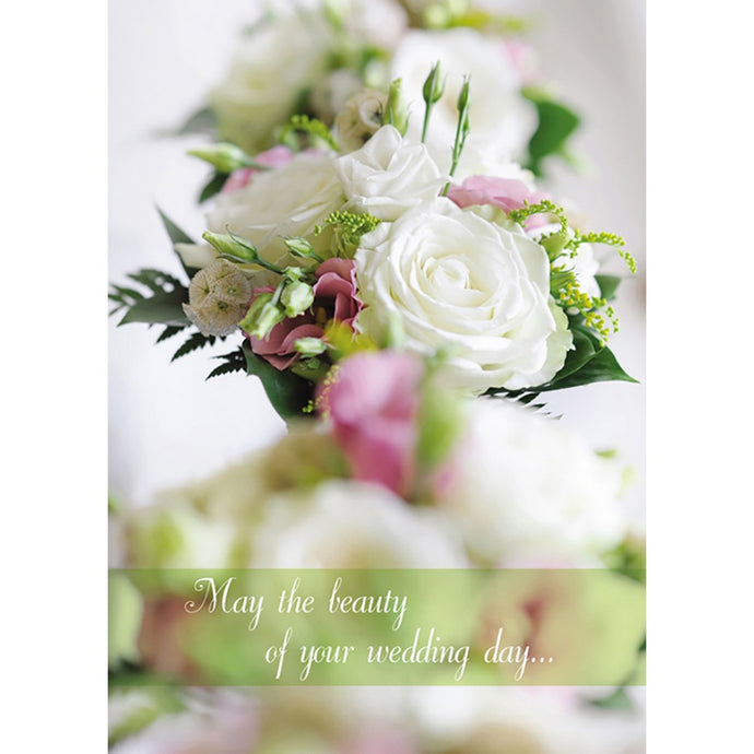 Beautiful Days Wedding Greeting Card