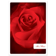 Load image into Gallery viewer, Be Mine Rose Valentine's Day Greeting Card