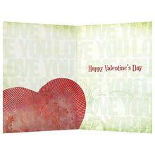 Load image into Gallery viewer, Be Mine Valentine's Day Greeting Card