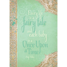 Load image into Gallery viewer, Fairy Tale Baby New Baby Greeting Card