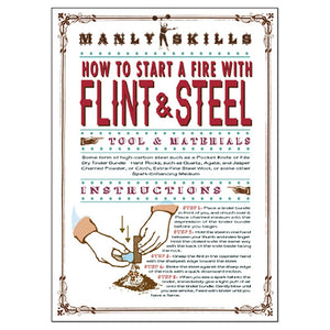 Man Of Flint And Steel 4 Pack Valentine's Day Greeting Card