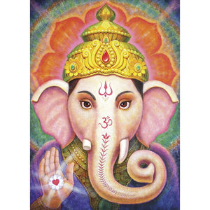 Vibrant Ganesha All Occasion Greeting Card