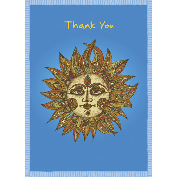 Sunny Thanks Thank You Greeting Card