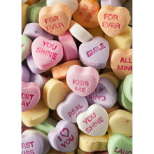 Load image into Gallery viewer, Candy Hearts Valentine Valentine's Day Greeting Card