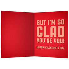 Load image into Gallery viewer, Love You More Valentine's Day Greeting Card