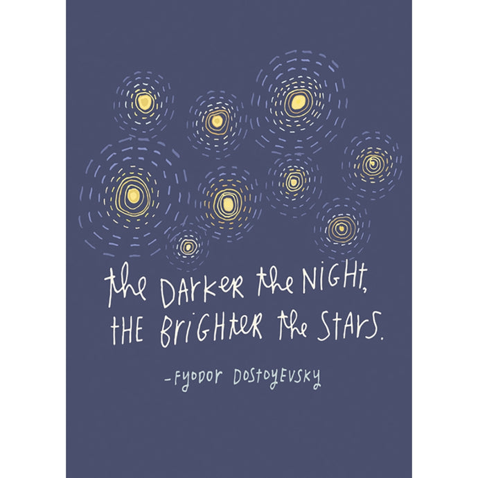 Brighter Stars Support Greeting Card