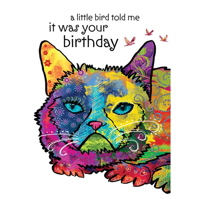 Happy Bird Day Birthday Greeting Card