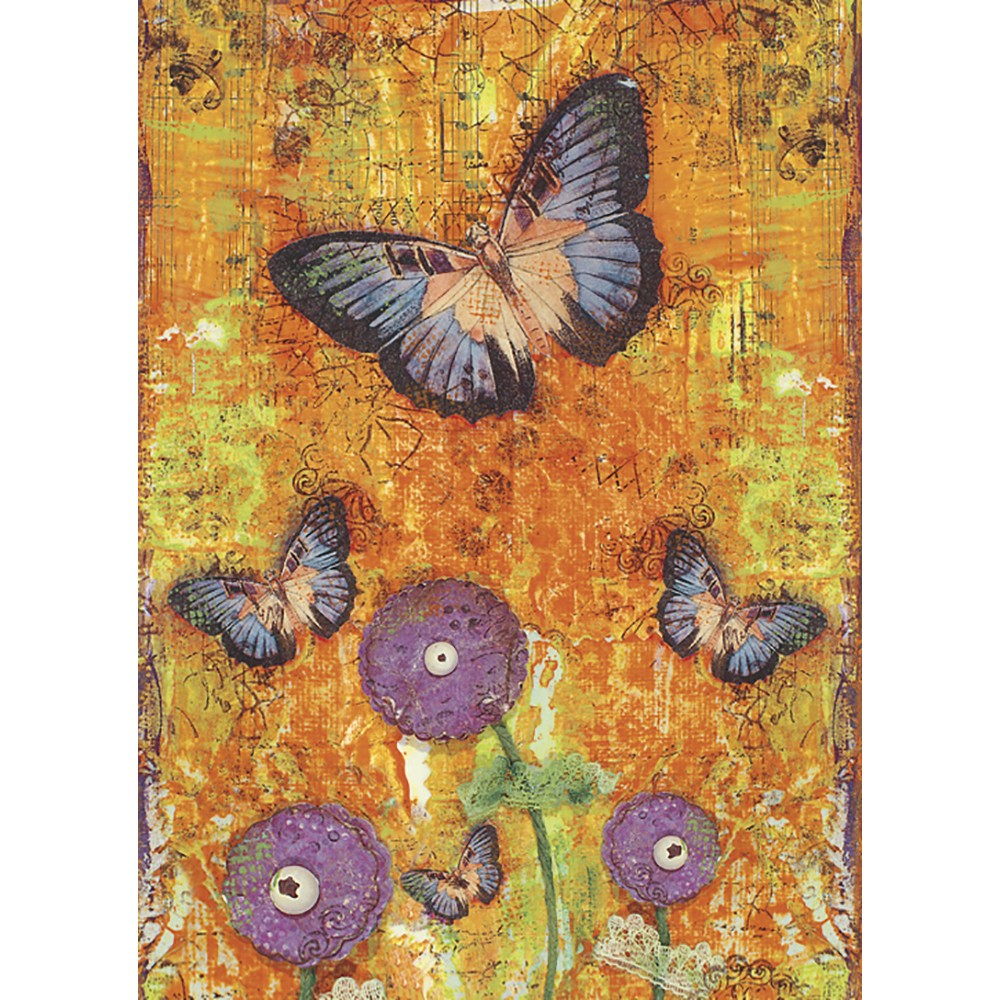 Butterfly Fantasy All Occasion Greeting Card
