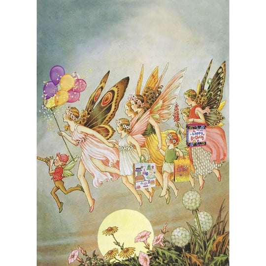 Fairie Celebration Birthday Greeting Card