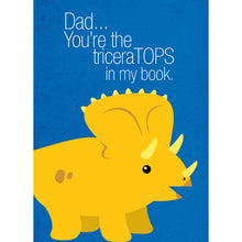Load image into Gallery viewer, Top Dad Father's Day Greeting Card