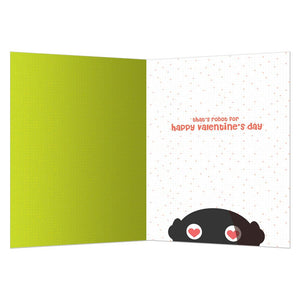 Beep Valentine Valentine's Day Greeting Card