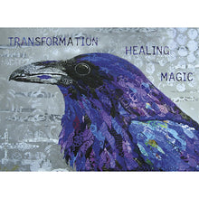 Load image into Gallery viewer, Healing Raven Support Greeting Card