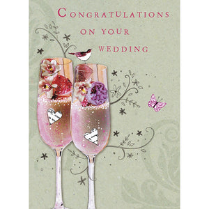 Wedding Congratulations Wedding Greeting Card