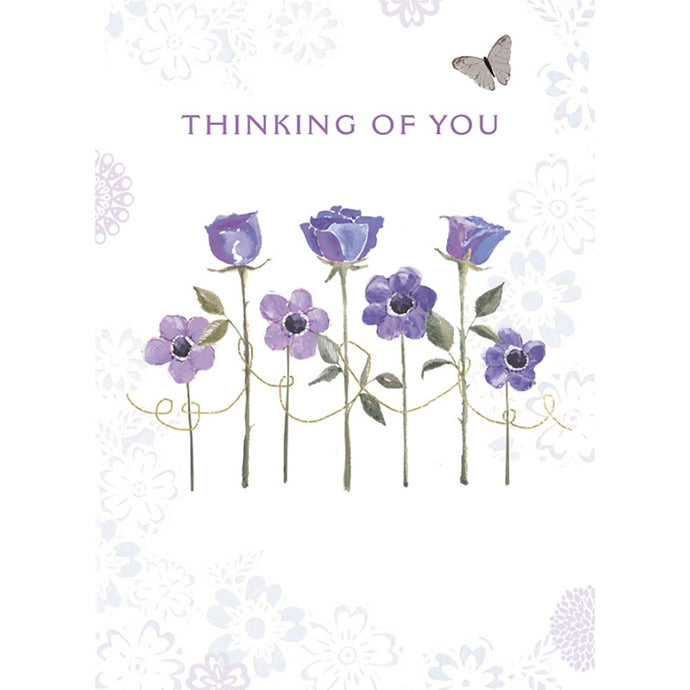 Condolences Sympathy Greeting Card