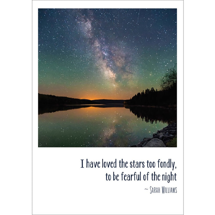 Loved The Stars Solstice Greeting Card