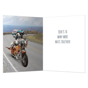 Life Is A Highway Anniversary Greeting Card