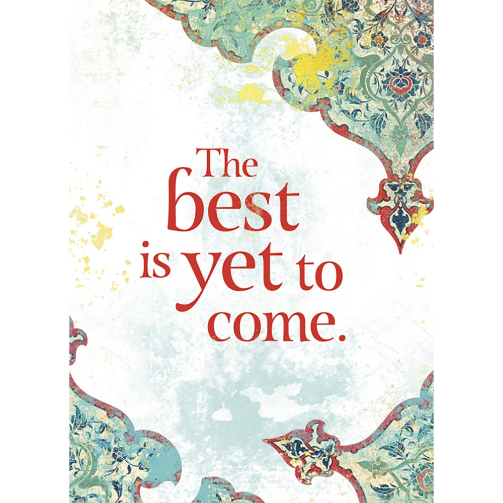 Best Is Yet All Occasion Greeting Card