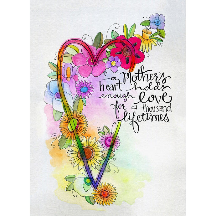 Mother Heart Mother's Day Greeting Card