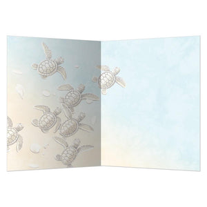 Baby Turtle Thanks Thank You Greeting Card
