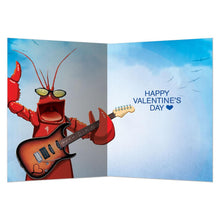 Load image into Gallery viewer, Rock Lobster Valentine Valentine's Day Greeting Card